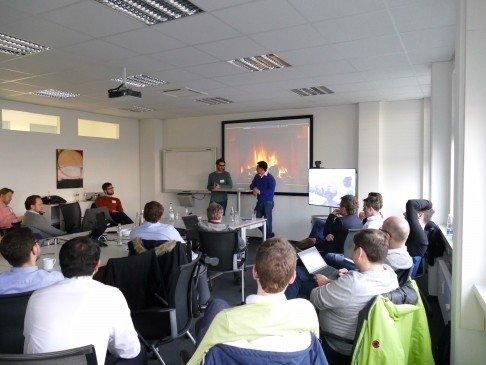 RBVC and Friends: IOTA Meetup at Bosch Venture Capital in Stuttgart