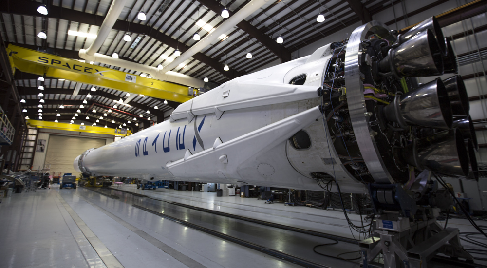 Spacex Falcon 9 Merlin Engines